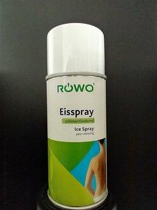 Rowo Coldspray toepassing bij sportblessure www.lamers-turnsport.com