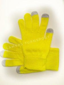 Handschoentjes voor lusjes Geel