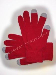 Handschoentjes voor lusjes Rood
