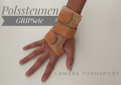 Polsbeschermer -Polssteunen Grips verkrijgbaar in 4 maten XS-S-M-L www.lamers-turnsport.com