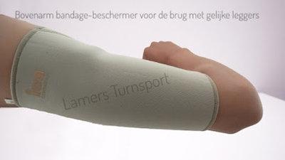 Bovenarm bandage-beschermer voor op de brug met gelijke leggers