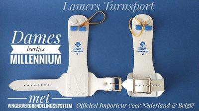 Damesleertjes Millennium 1 met rol en 1 Gesp www.lamers-turnsport.com