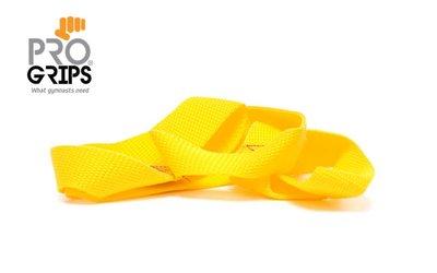 lusjes geel maat S aanbieding van € 9,95 voor € 7,50 p.p. ProGrips voor turnen www.lamers-turnsport.com